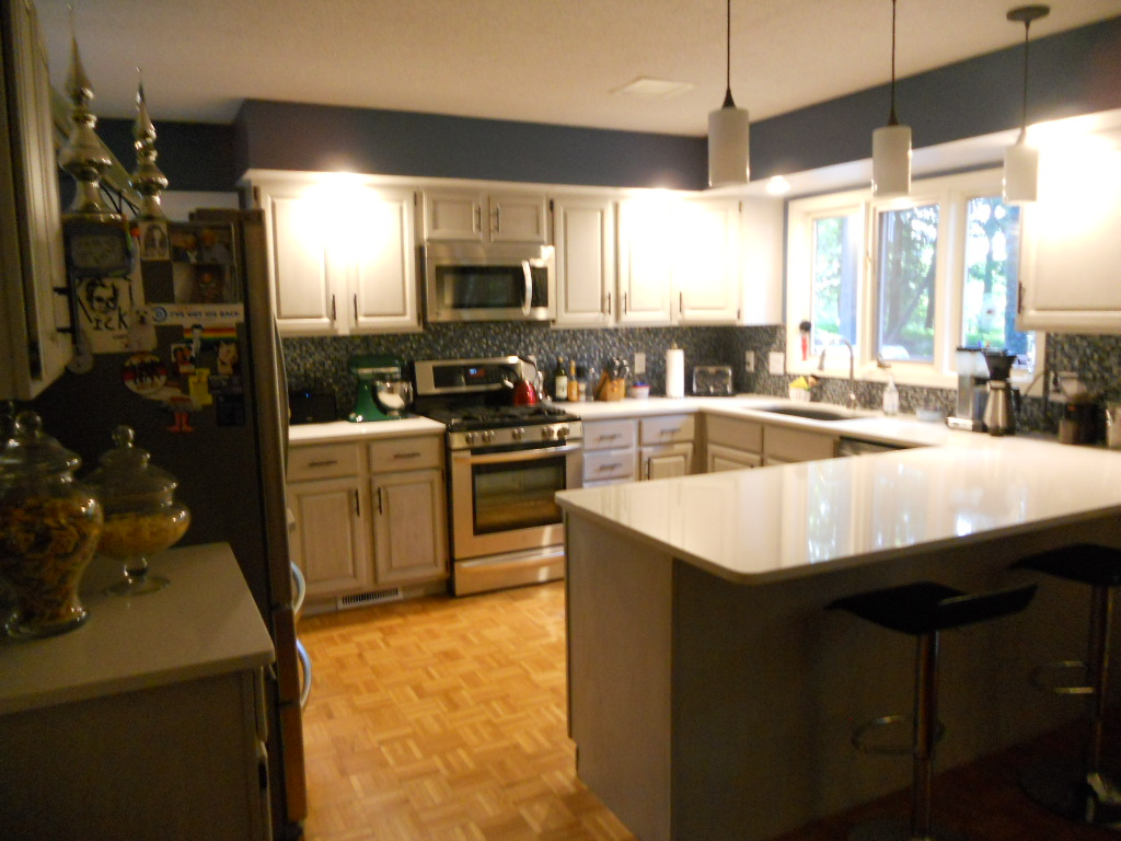 Kitchen cabinets johnson city tn - This Kitchen Was Given A Contemporary Updated Look