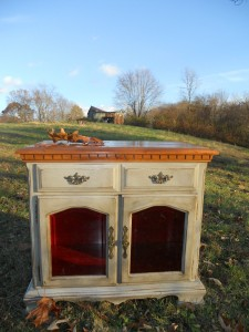 Bellagio cabinet furniture painting in Johnson City.