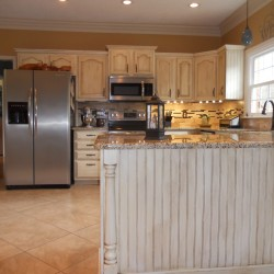 Cost effective kitchen updates with decorative details