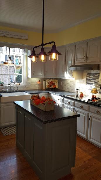 skillman_gray_lacquer_kitchen_cabinet_finish_vintage_chic ...